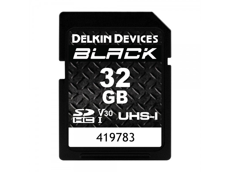 Delkin SD Black Rugged UHS-I V30 32gb
